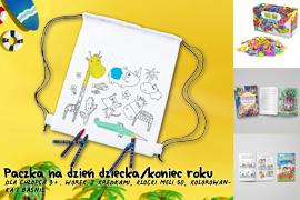 Paczka na Dzień dziecka/koniec roku dla chłopca 3-6