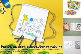 Paczka na Dzień dziecka/koniec roku dla dziewczynki 3-6