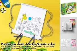 Paczka na Dzień dziecka/koniec roku dla dziewczynki 4-5lat