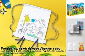 Paczka na Dzień dziecka/koniec roku dla chłopca 4-5lat