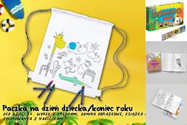 Paczka na Dzień dziecka/koniec roku dla dzieci 3+