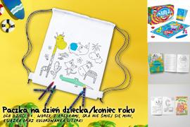 Paczka na Dzień dziecka/koniec roku dla dzieci 4+