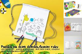 Paczka na Dzień dziecka/koniec roku dla dzieci 6+