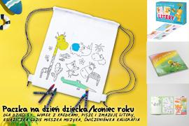 Paczka na Dzień dziecka/koniec roku dla dzieci 5+