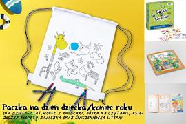 Paczka na Dzień dziecka/koniec roku dla dzieci 5-7lat