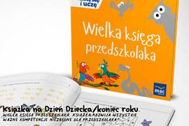 Książka Wielka księga przedszkolaka