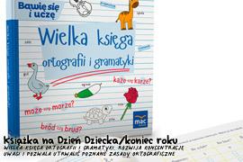 Książka Wielka księga ortografii i gramatyki