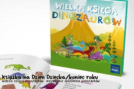 Książka Wielka księga dinozaurów