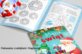 Magia świąt książeczka ćwiczeniówka