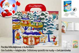 Paczka Mikołajkowa dla dzieci 8+