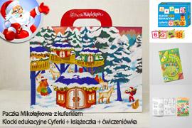 Paczka Mikołajkowa dla dzieci 4 - 6 lat