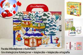 Paczka Mikołajkowa dla dzieci 7-10lat