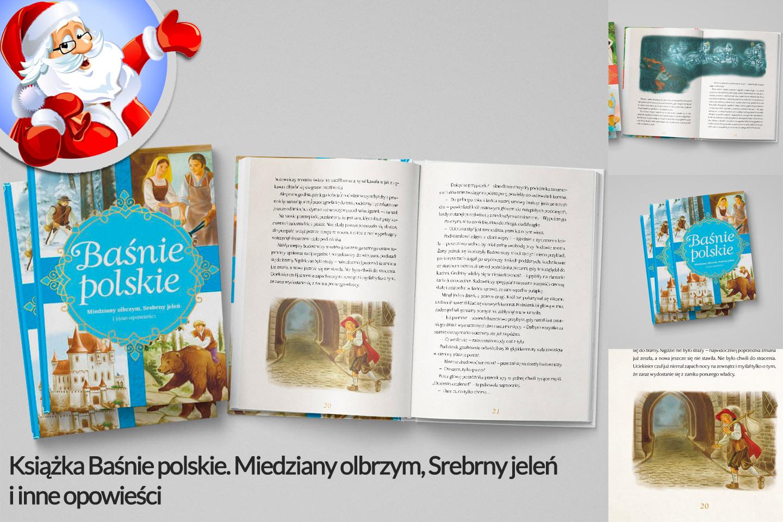 Książka Baśnie polskie. Miedziany olbrzym, Sreb