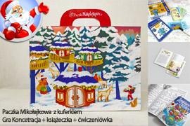 Paczka Mikołajkowa dla dzieci 6 lat