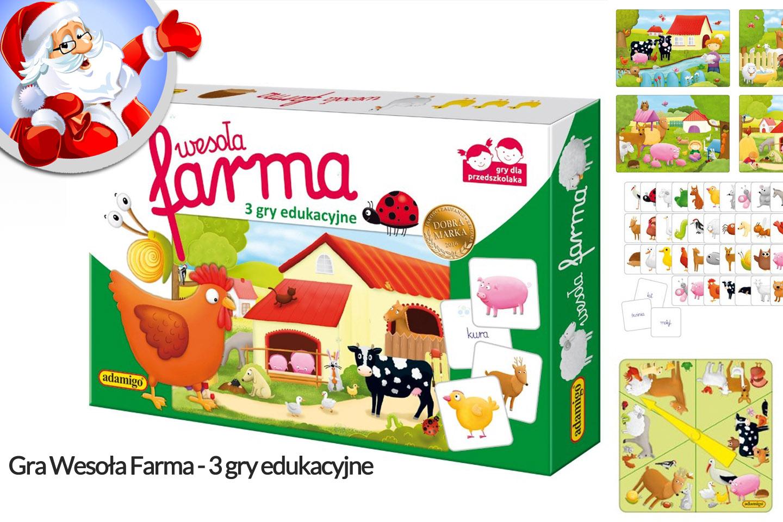 Gra edukacyjna Wesoła farma