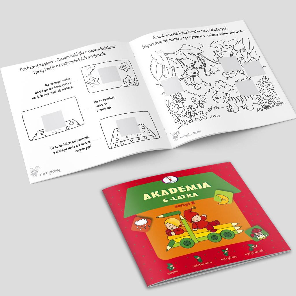 Akademia 6-latka - zeszyt B