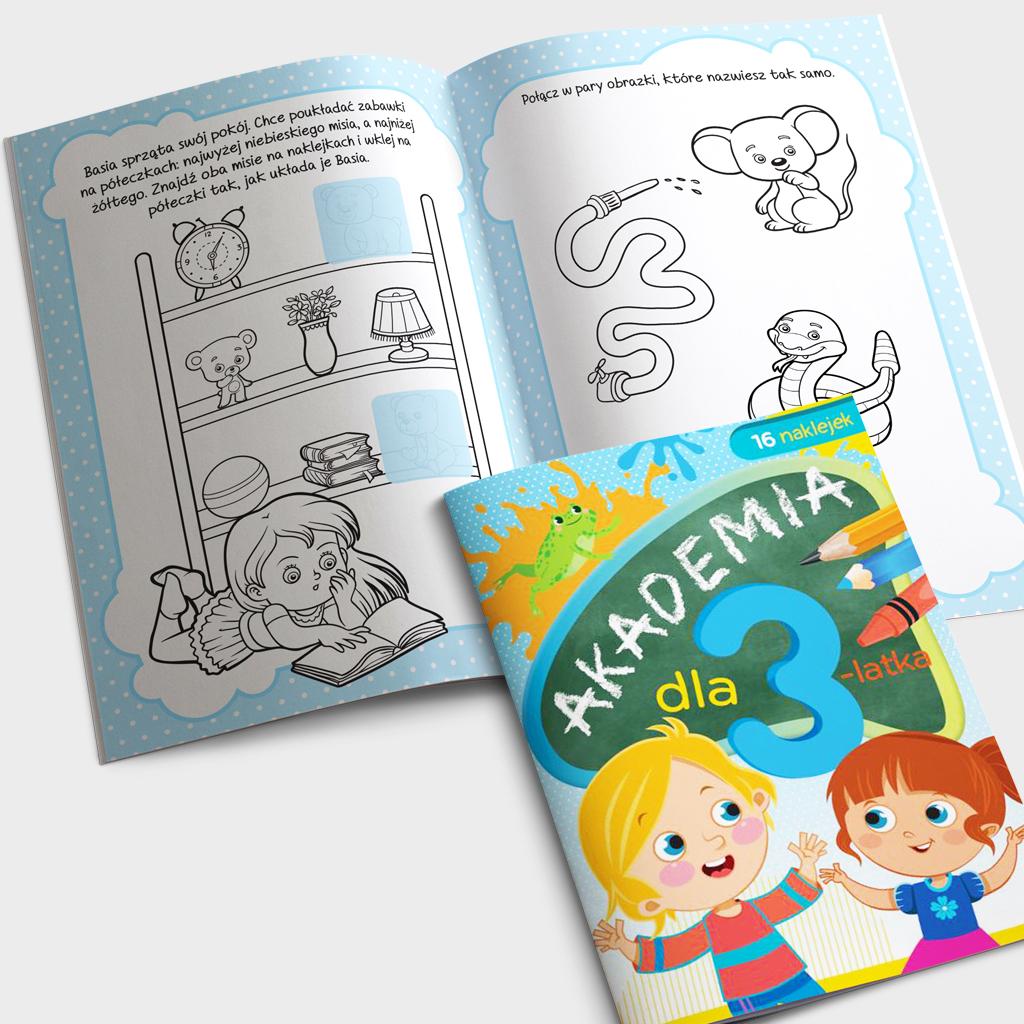 Akademia dla 3-latka książeczka
