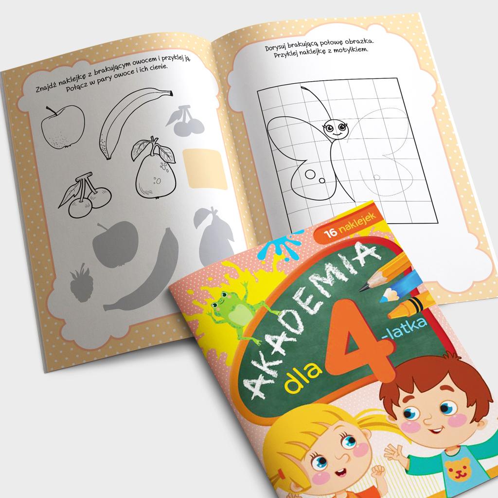 Akademia dla 4-latka książeczka