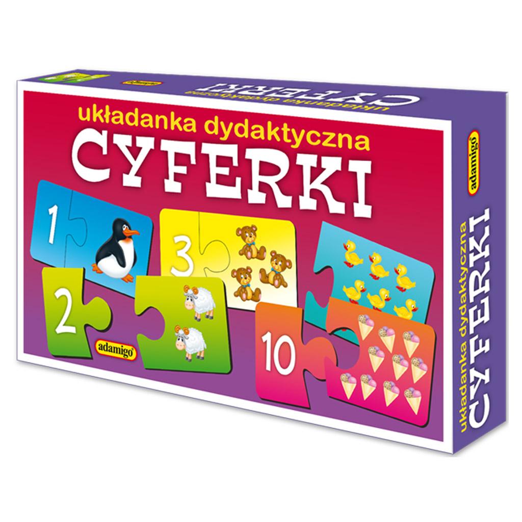 CYFERKI - układanka