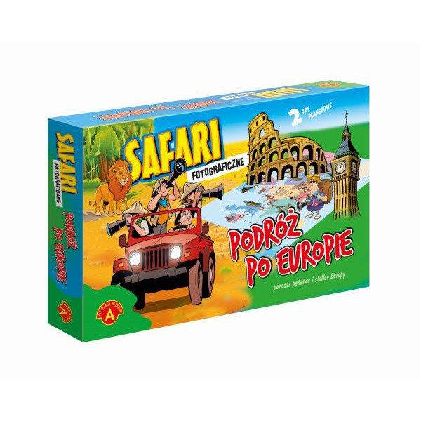 Gra Safari Fotograficzne i Podróż po Europie