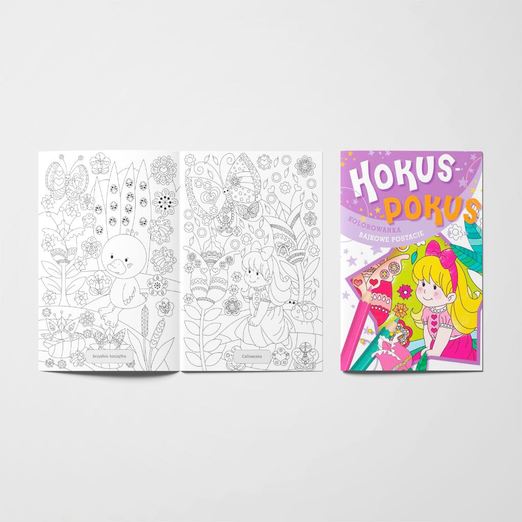 Hokus-pokus. Bajkowe postacie książeczka