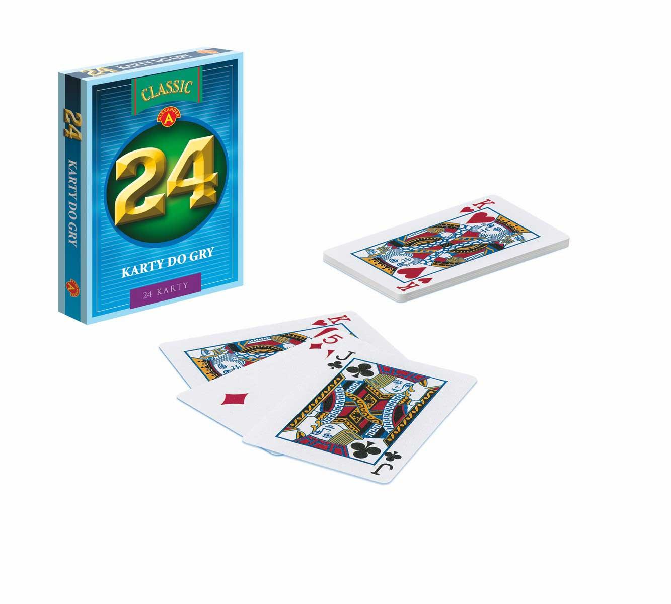 Karty do gry 24 el.