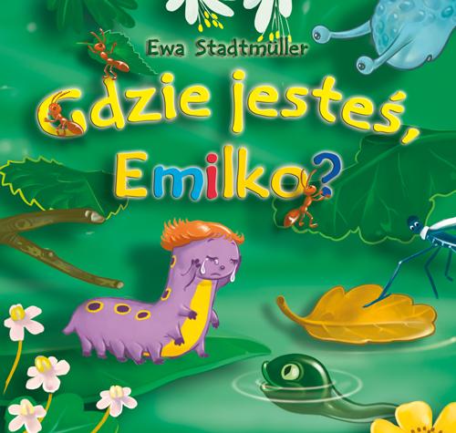 Książeczka do poczytania - Gdzie jesteś Emilko?