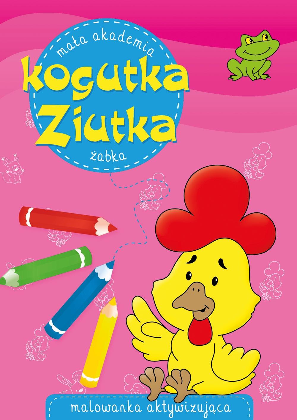 Książeczka Mała Akademia Kogutka Ziutka. Żabka