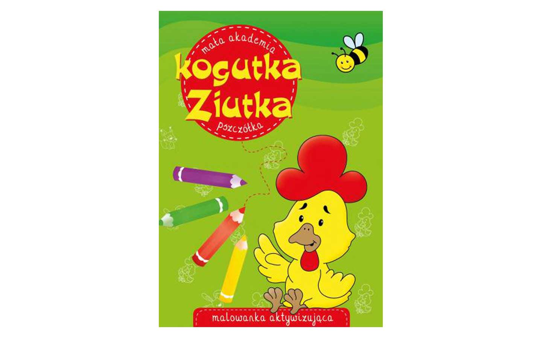 Książeczka Mała Akademia Kogutka Ziutka. Pszczółka