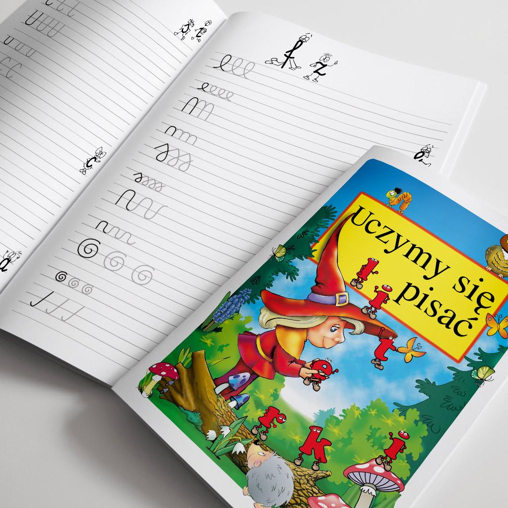 Książeczka uczymy się pisać