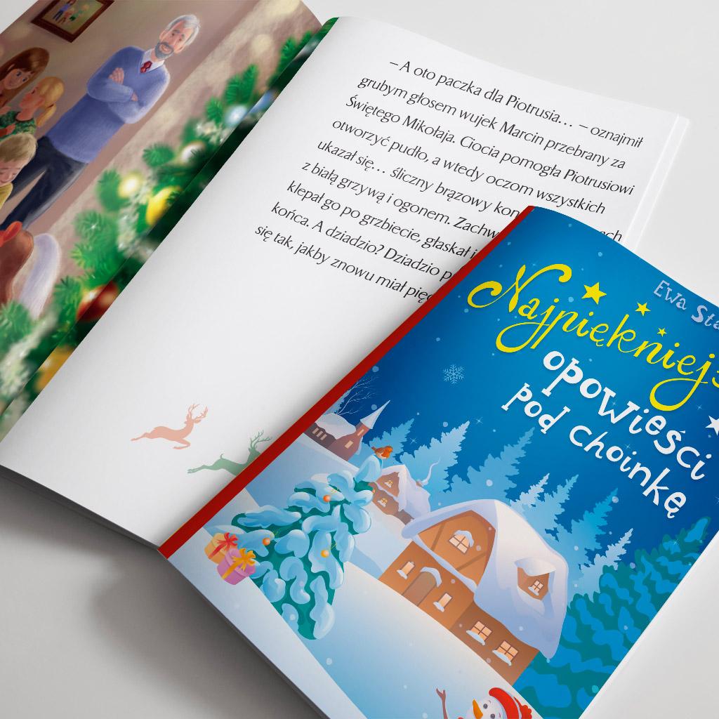 Książka Najpiękniejsze opowieści pod Choinkę.