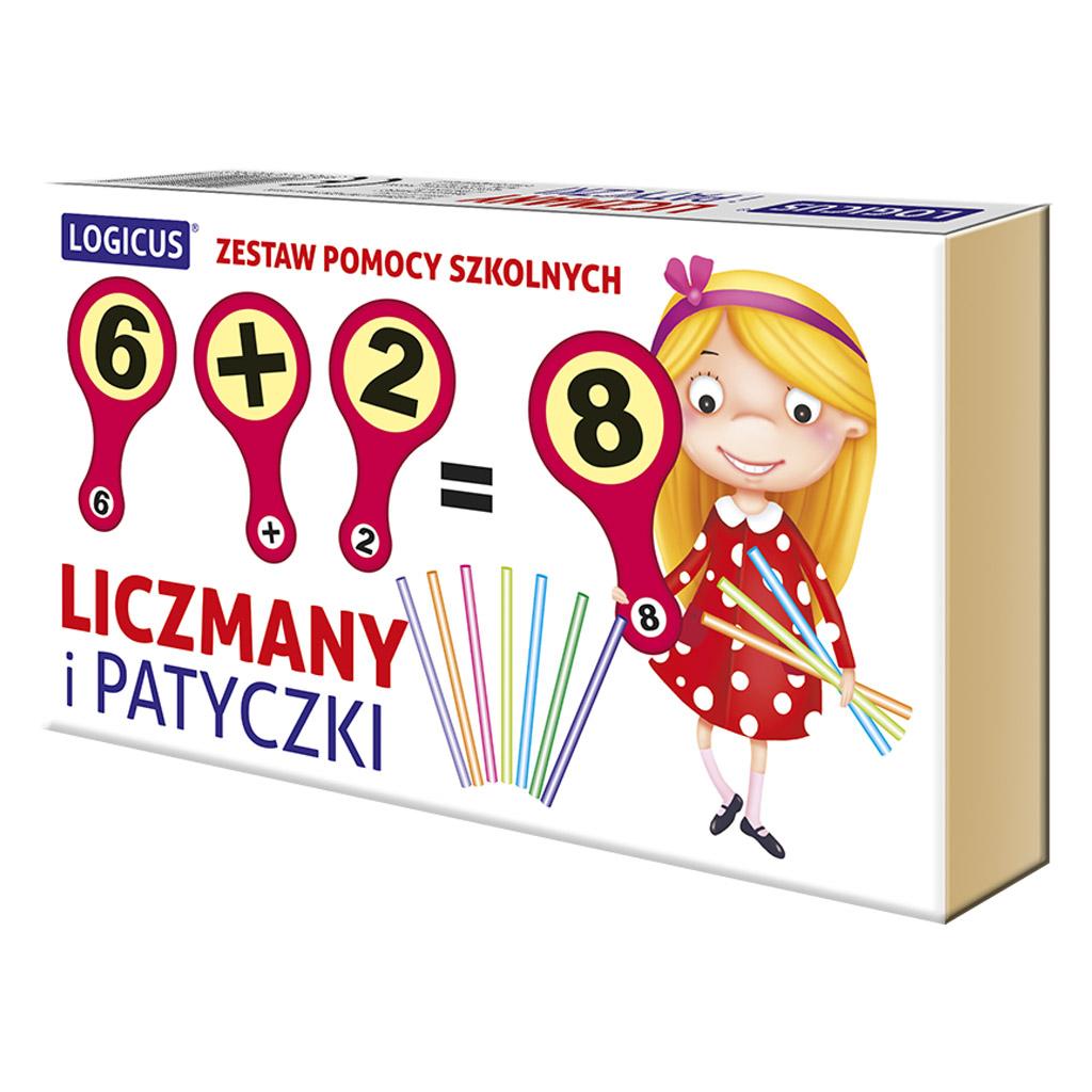 LICZMANY I PATYCZKI - pomoc szkolna
