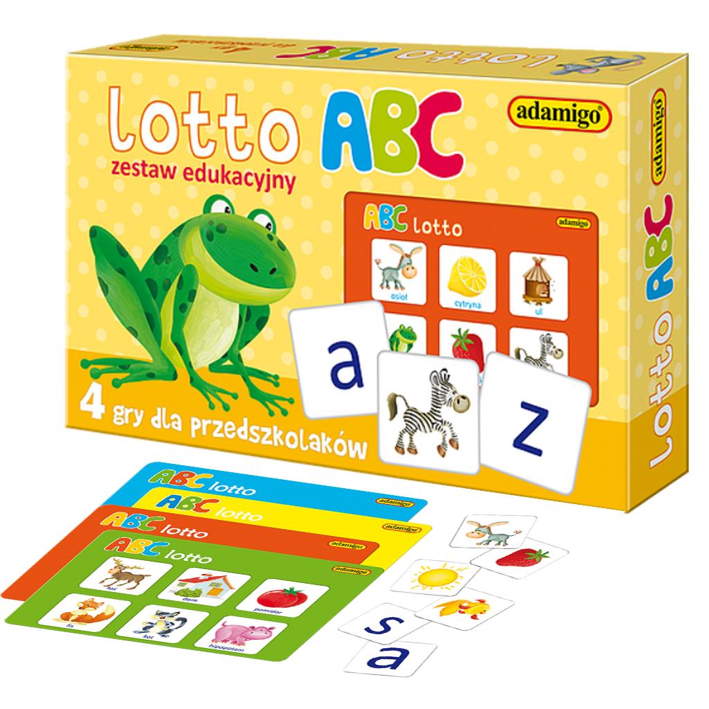 Lotto ABC gra edukacyjna