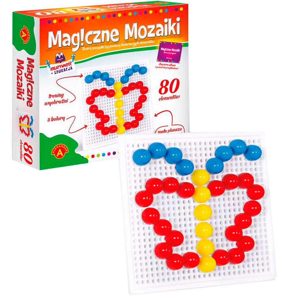 Magiczne Mozaiki 80 el.