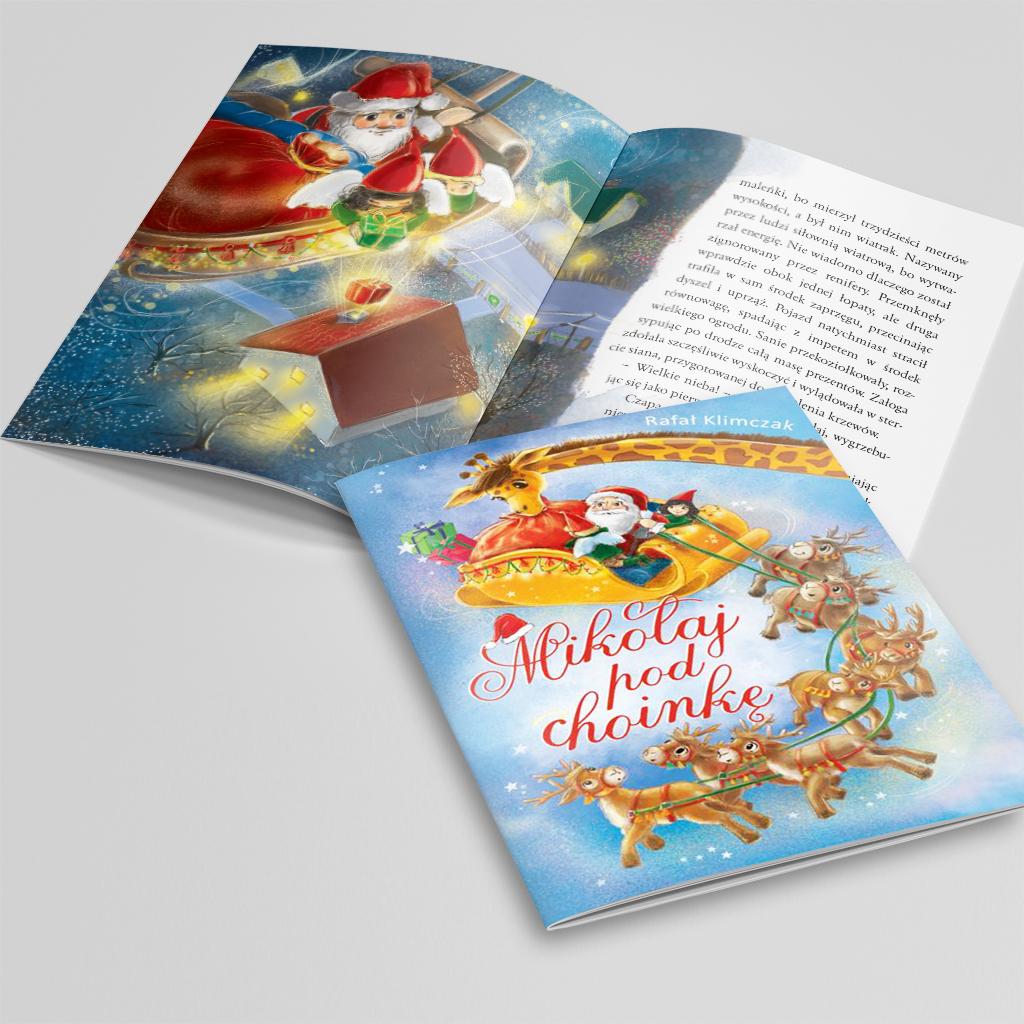 Mikołaj pod choinkę książka