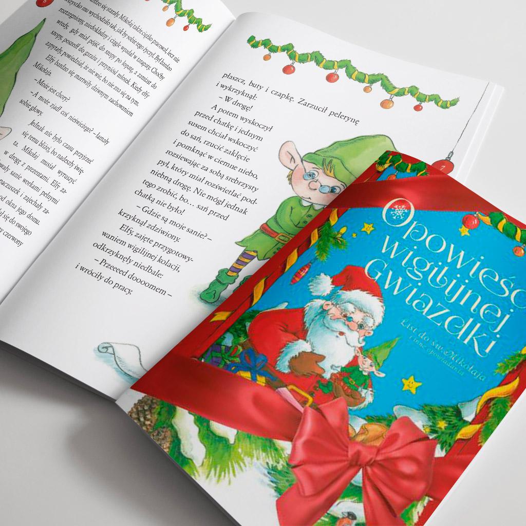 Opowieści wigilijnej gwiazdki - List do świętego Mikołaja