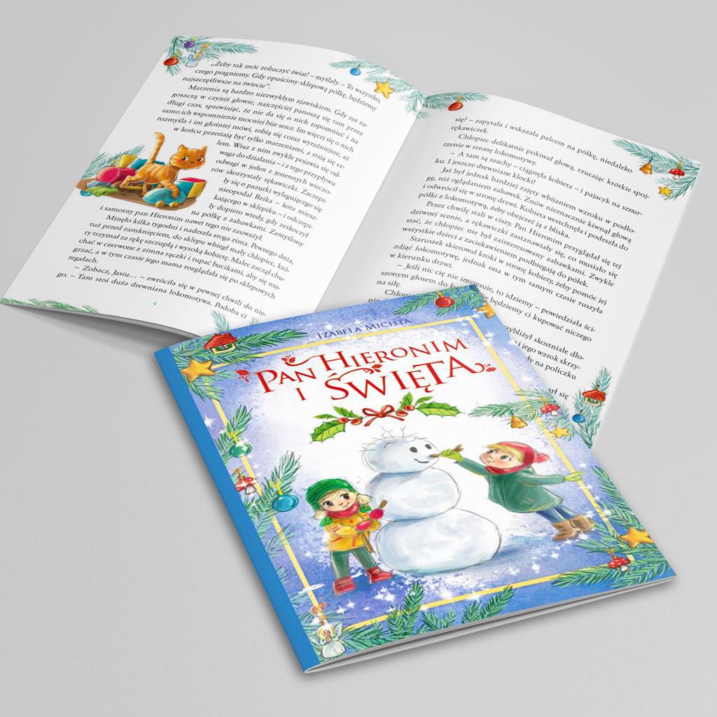 Pan Hieronim i święta książka