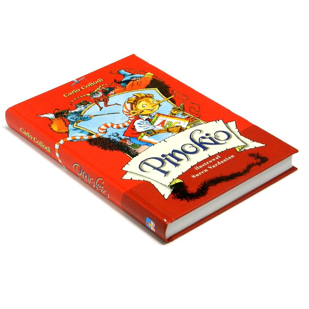 Pinokio książka