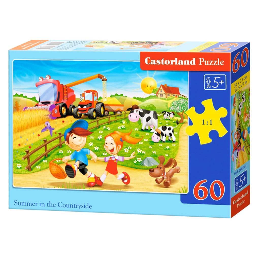 Puzzle lato na wsi