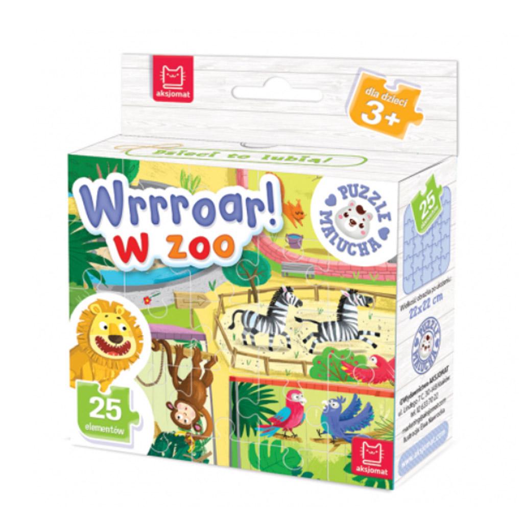 Puzzle malucha. Wrrroar! W zoo