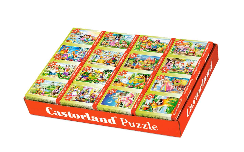 Puzzle Mini 54 el. 1 szt puzzli.