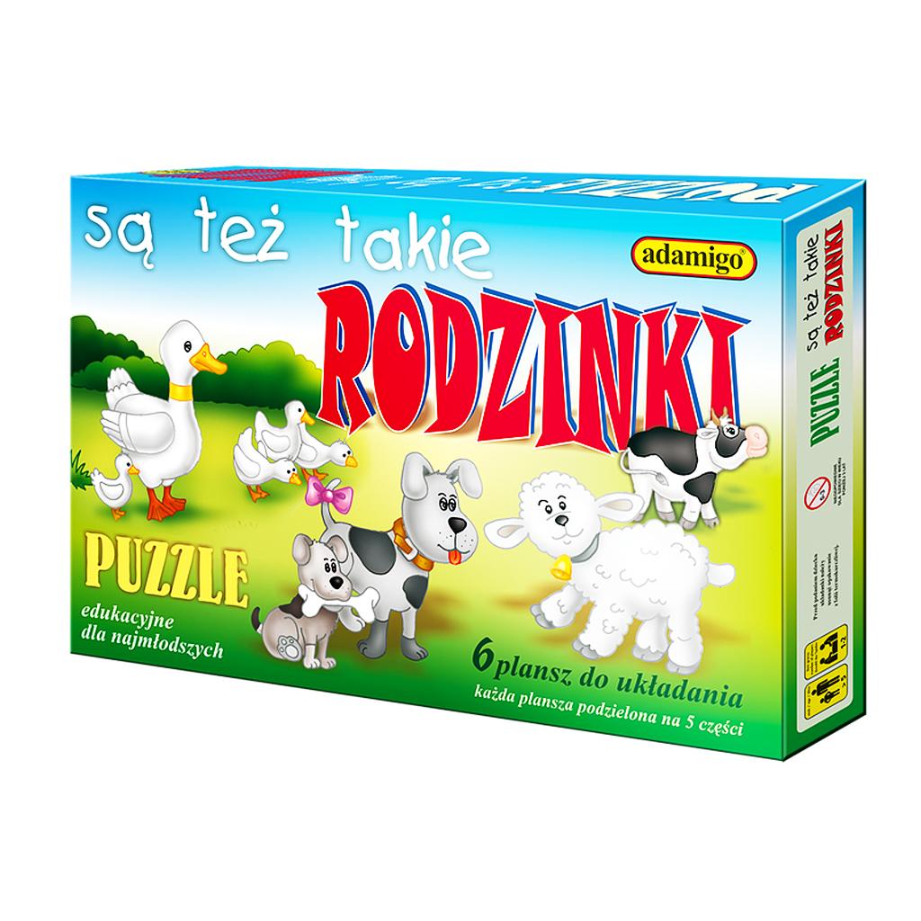 Puzzle Są też takie rodzinki