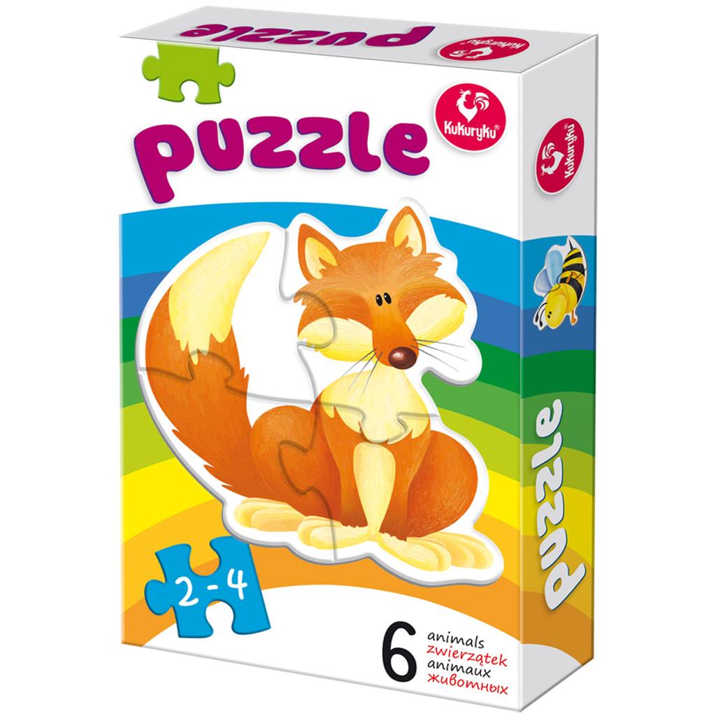 Puzzle zwierzaki 1