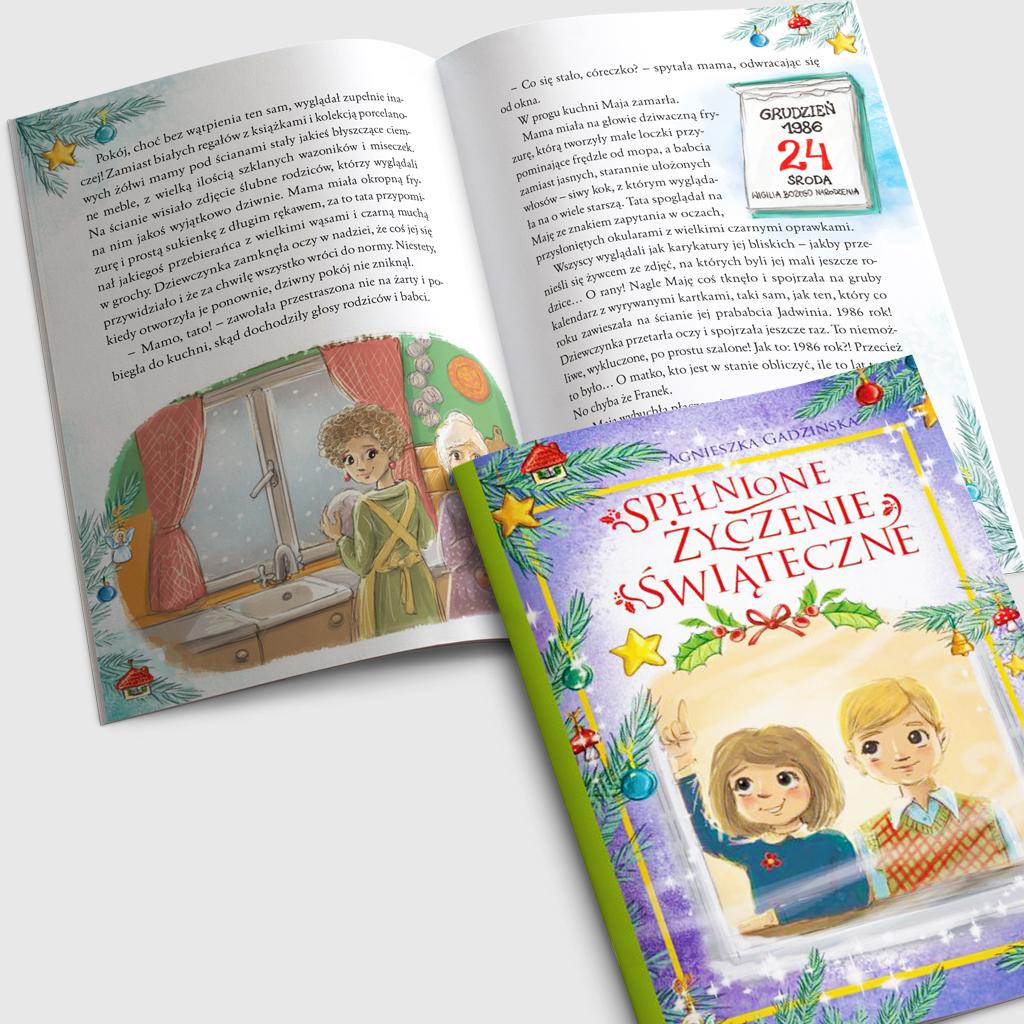 Spełnione życzenie świąteczne książka