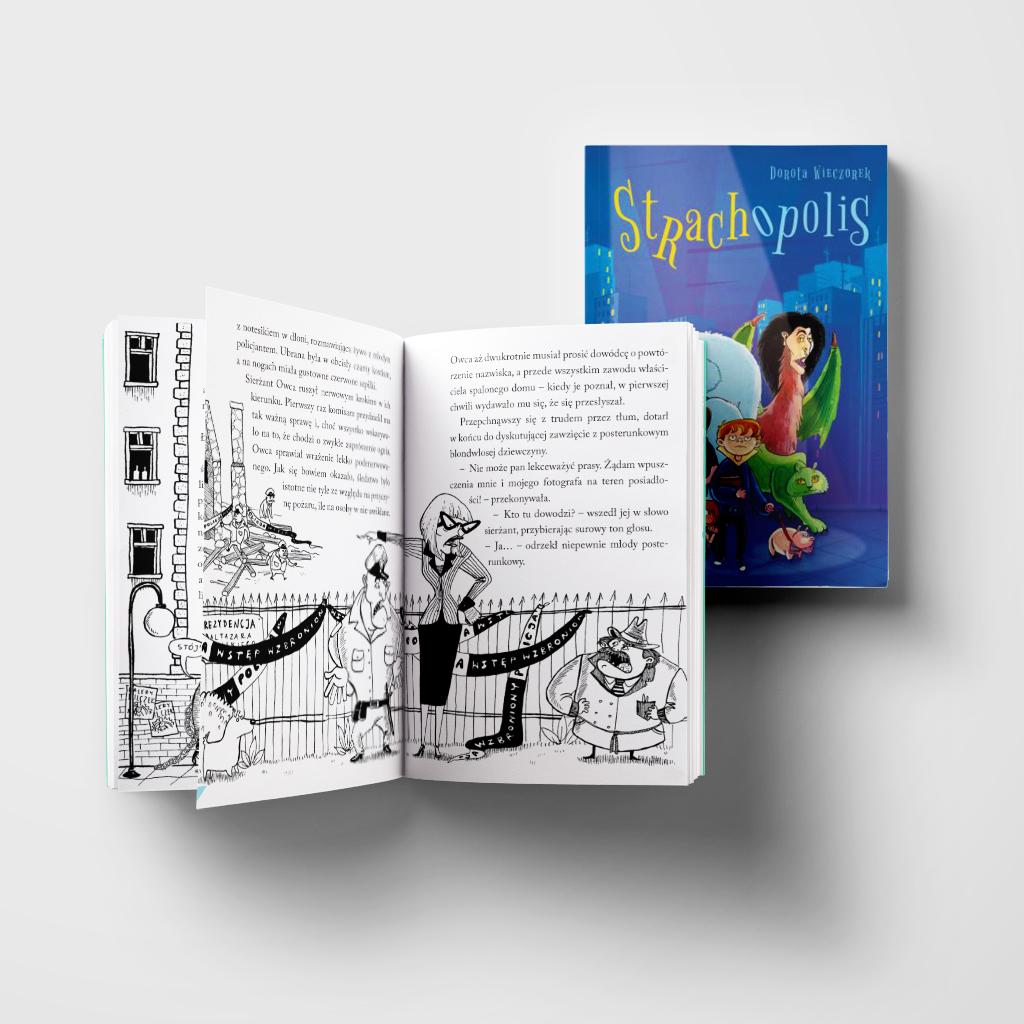 Strachopolis książka