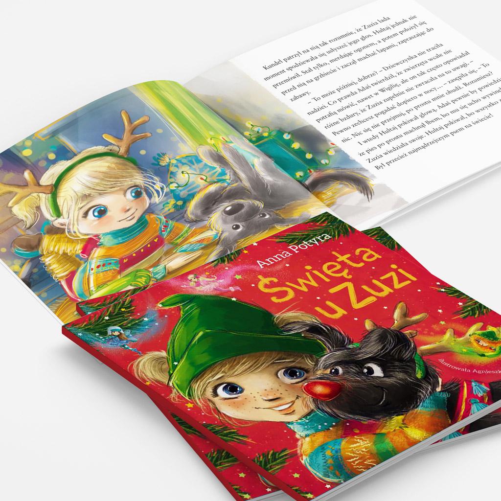 Święta u Zuzi książka