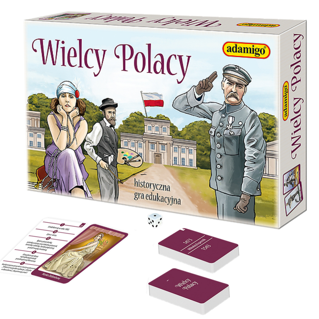 Wielcy Polacy Historyczna Gra Edukacyjna