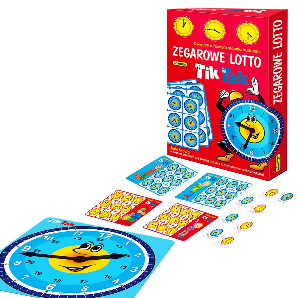 Zegarowe lotto gra